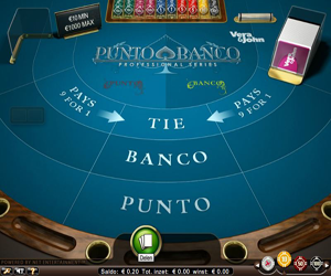 Vera John Punto Banco